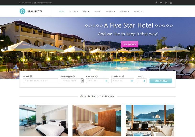 Booking for Ideal hotel design booking